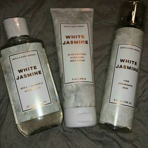 Shower gel, Body Cream, Fragrance mist